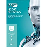 ESET NOD32 Antivirus v12 2019, 3 Licencias