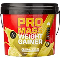 Gen-Tec Nutrition Promass Weight Gainer Banana Powder, 3 Kilograms