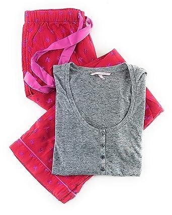 5cf8b3e770736 Victoria's Secret Dreamer Henley Pajama Set