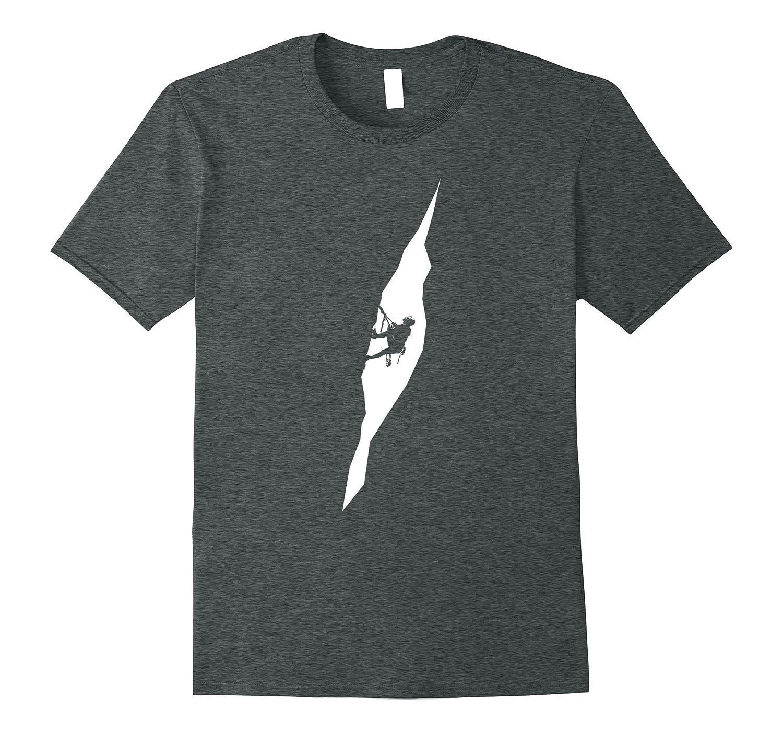 Rock Climbing T-Shirt-Tovacu