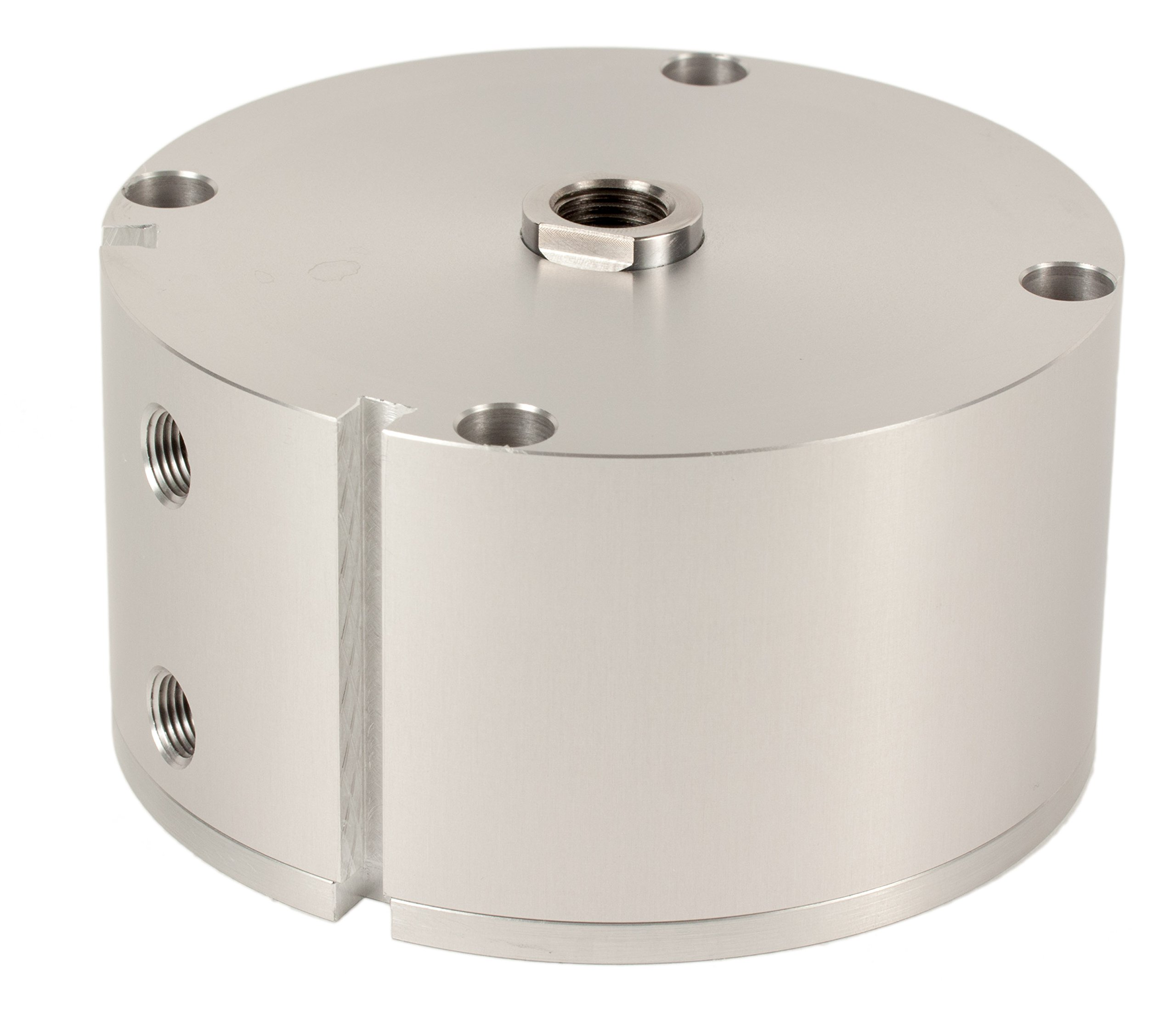 Fabco-Air C-721-X-E Original Pancake Cylinder, Double Acting, Maximum Pressure of 250 PSI, Switch Ready with Magnet, 3'' Bore Diameter x 1'' Stroke