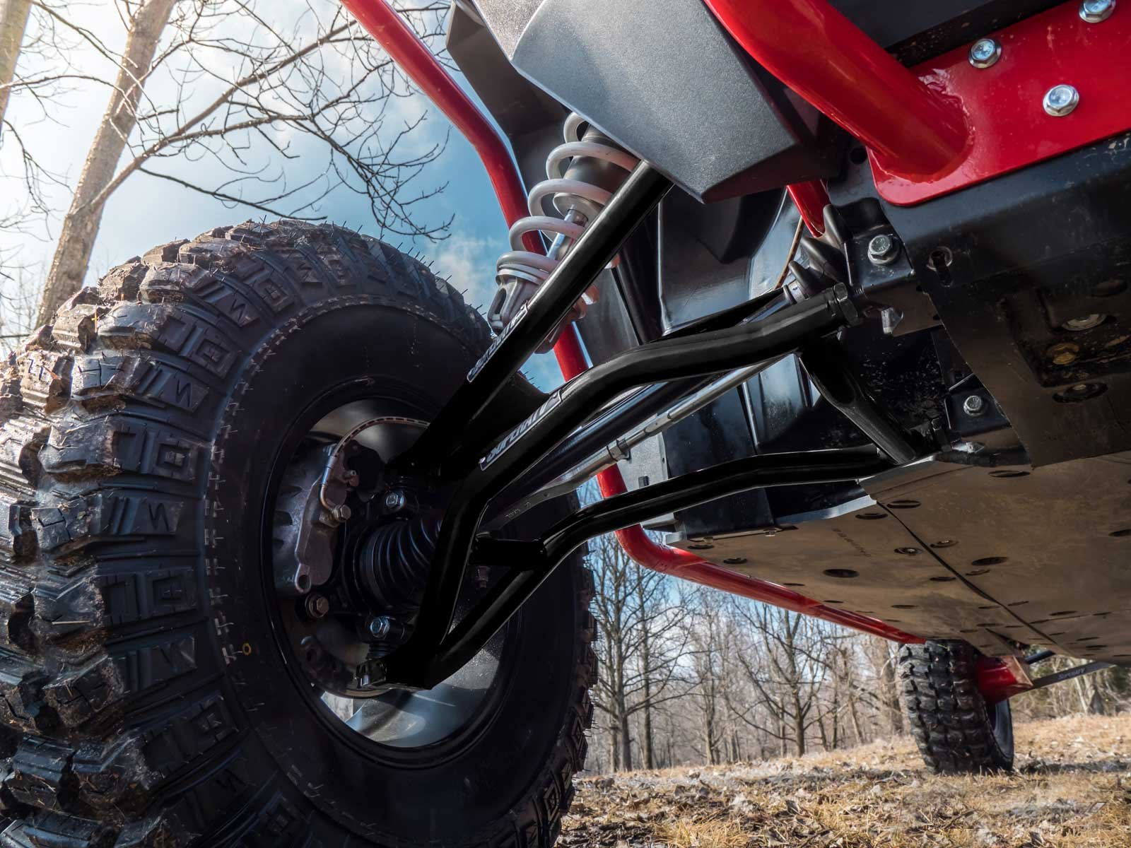 SuperATV High Clearance A-Arms for Polaris RZR XP 1000 / XP 4 1000 (2014+) - Upper and Lower Arms - Black by SuperATV.com (Image #4)