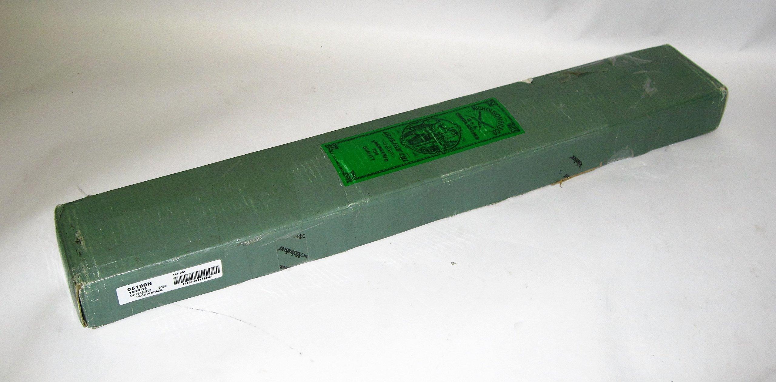 (6-pack) Boxed Nicholson 14'' Half Round Pipeliner File 05190N 6C692