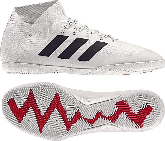 Details zu Adidas Nemeziz 18.3 in D97989 Weiß Turnschuhe Herren Sportschuhe von Fußball