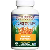 Host Defense, Cordyceps Capsules, Energy and Stamina Support, Daily Dietary Supplement, USDA Organic, 120 Vegetarian…