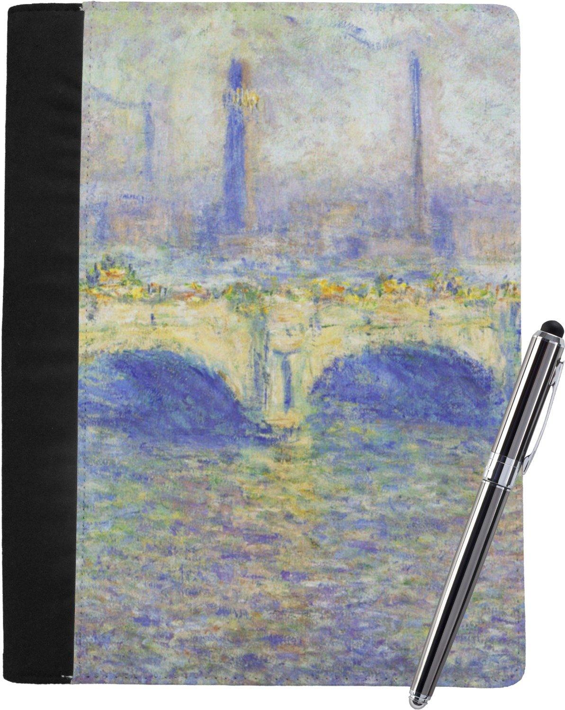 Waterloo Bridge by Claude Monet Notebook Padfolio