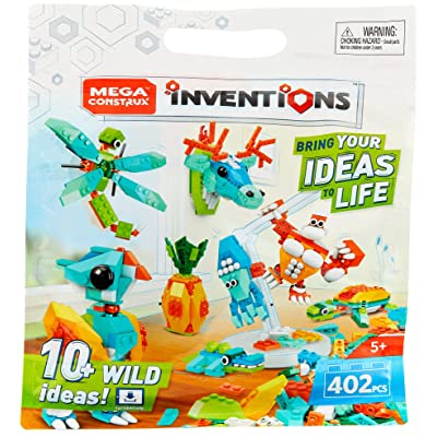 Mega Construx Inventions Wild Pack: Toys & Games