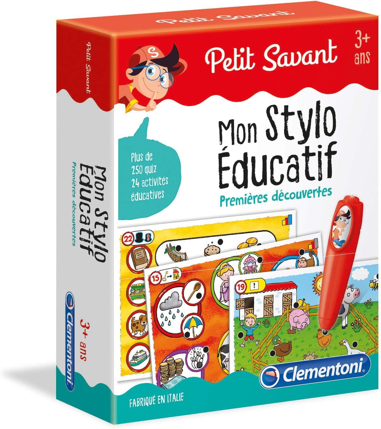 Clementoni-Mon Stylo interactif-Premi/ères d/écouvertes 52464 Multicolore