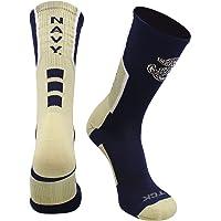 United States Naval Academy Socks Navy Midshipmen Perimeter Crew Socks