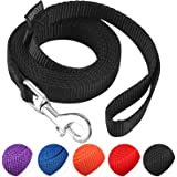 """AMAGOOD 6 FT Puppy/Dog Leash, Strong and Durable Traditional Style Leash with Easy to Use Collar Hook,3/8"""" 5/8"""" 3/4"""" 1"""" Dog L"""