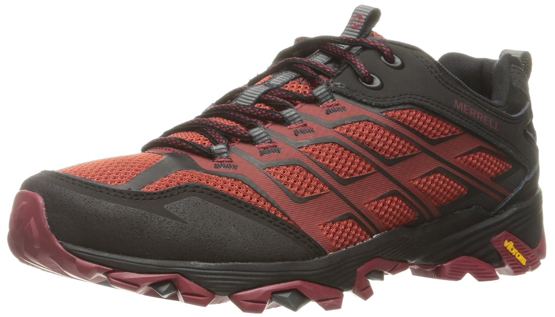Merrell Men's Moab FST Hiking Shoe B0195LEVSG 10 D(M) US|Burgundy/Black