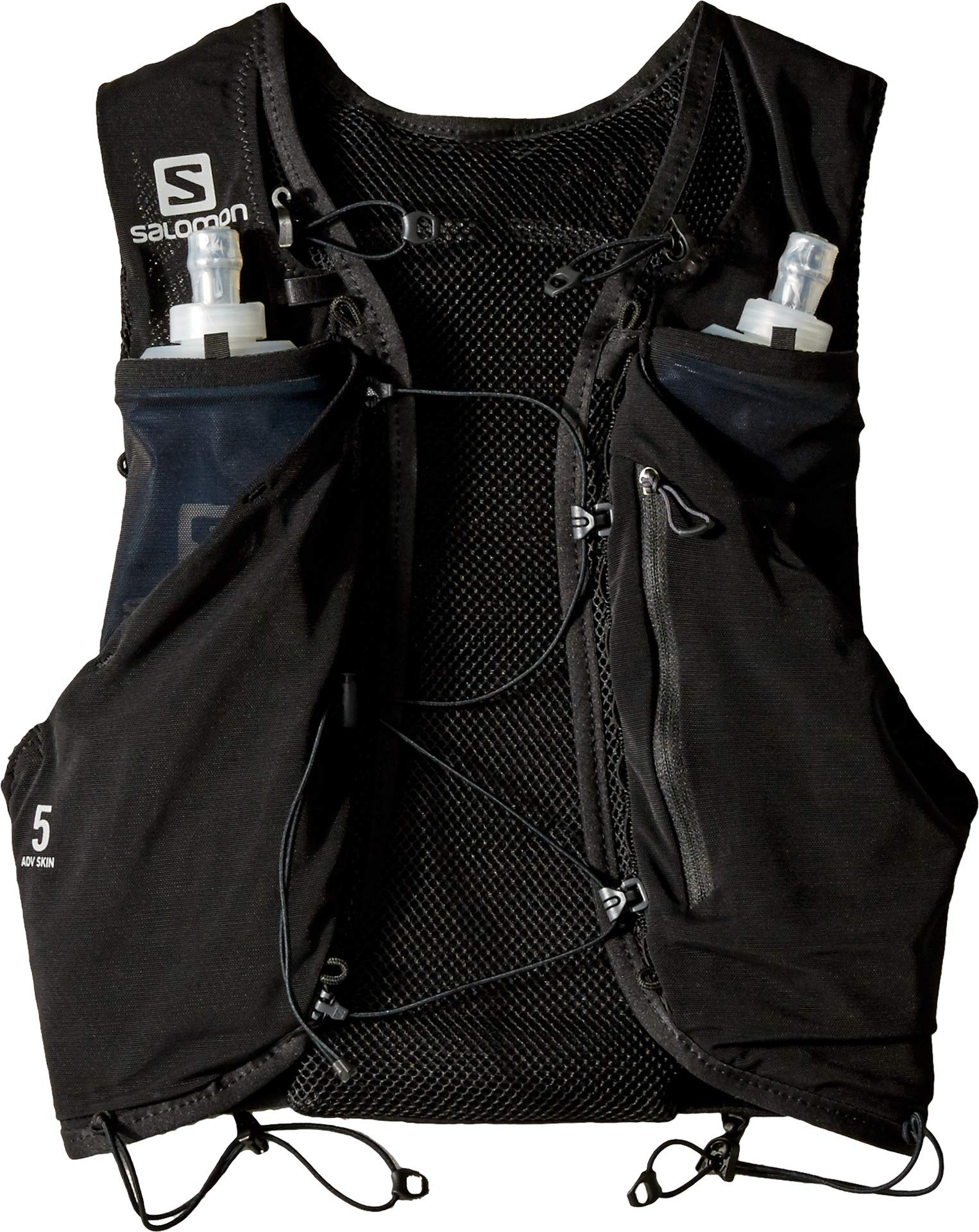 Salomon Unisex Adv Skin 5 Set Black X-Small by Salomon (Image #1)