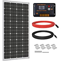 ECO-WORTHY 200W 400W 600W Complete Solar Panel Kit with 1000W Off Grid Power Inverter for Home, RV, Camper,Boat