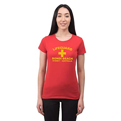 Bang Tidy Clothing Womenu0027s Lifeguard Bondi Beach Sydney Australia Surfer Beach Fancy Dress T Shirt Red  sc 1 st  Amazon UK & Bang Tidy Clothing Womenu0027s Lifeguard Bondi Beach Sydney Australia ...