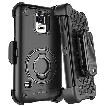 BENTOBEN Funda Samsung Galaxy S5, Carcasa Cover Case con Kickstand + Belt Clip Pesado 360 ° Protección Antichoque y Antigolpes Funda para Samsung ...