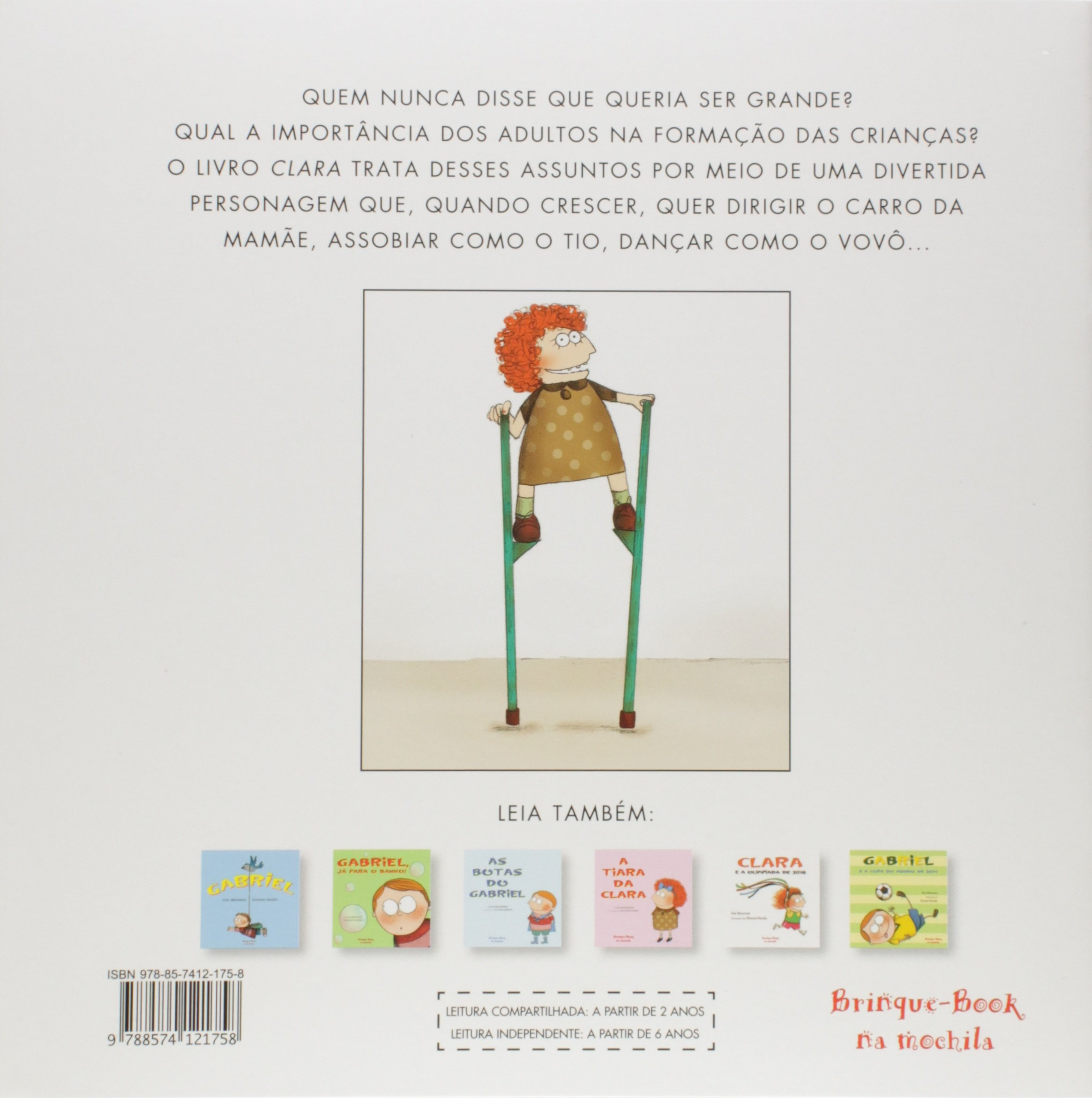 Clara (Em Portuguese do Brasil): Ilan Brenman: 9788574121758: Amazon.com: Books