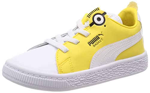Puma Minions Basket BS AC Inf, Zapatillas Unisex Niños: Amazon.es: Zapatos y complementos