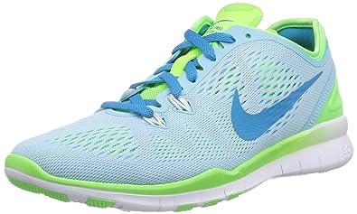 best service 23899 69d7a Nike Free TR 5, Women s Fitness Shoes, Blue (Stilles Blue Blitz
