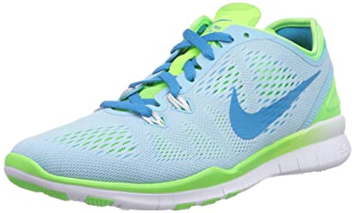 Nike Free TR 5, Women's Fitness Shoes, Blue (Stilles BlueBlitz