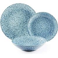 Excelsa Granito vajilla de 18piezas, cerámica