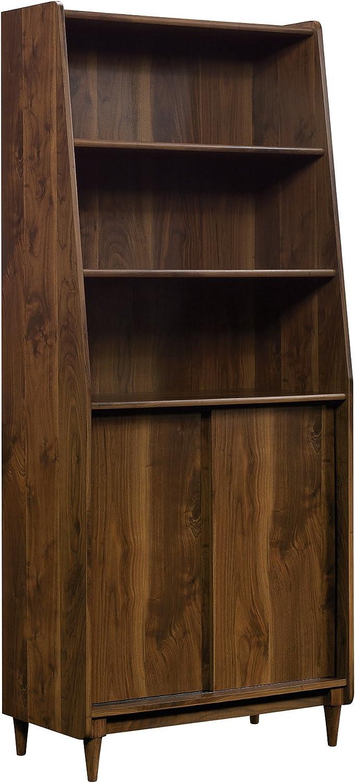 """Sauder 420282 Harvey Park Bookcase, L: 29.92"""" x W: 15.59"""" x H: 70.39"""", Grand Walnut Finish"""