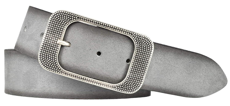 d10239bb81cef Bernd Götz Damen Leder Gürtel 40 mm Veloursleder kürzbar Damengürtel  Ledergürtel: Amazon.de: Bekleidung