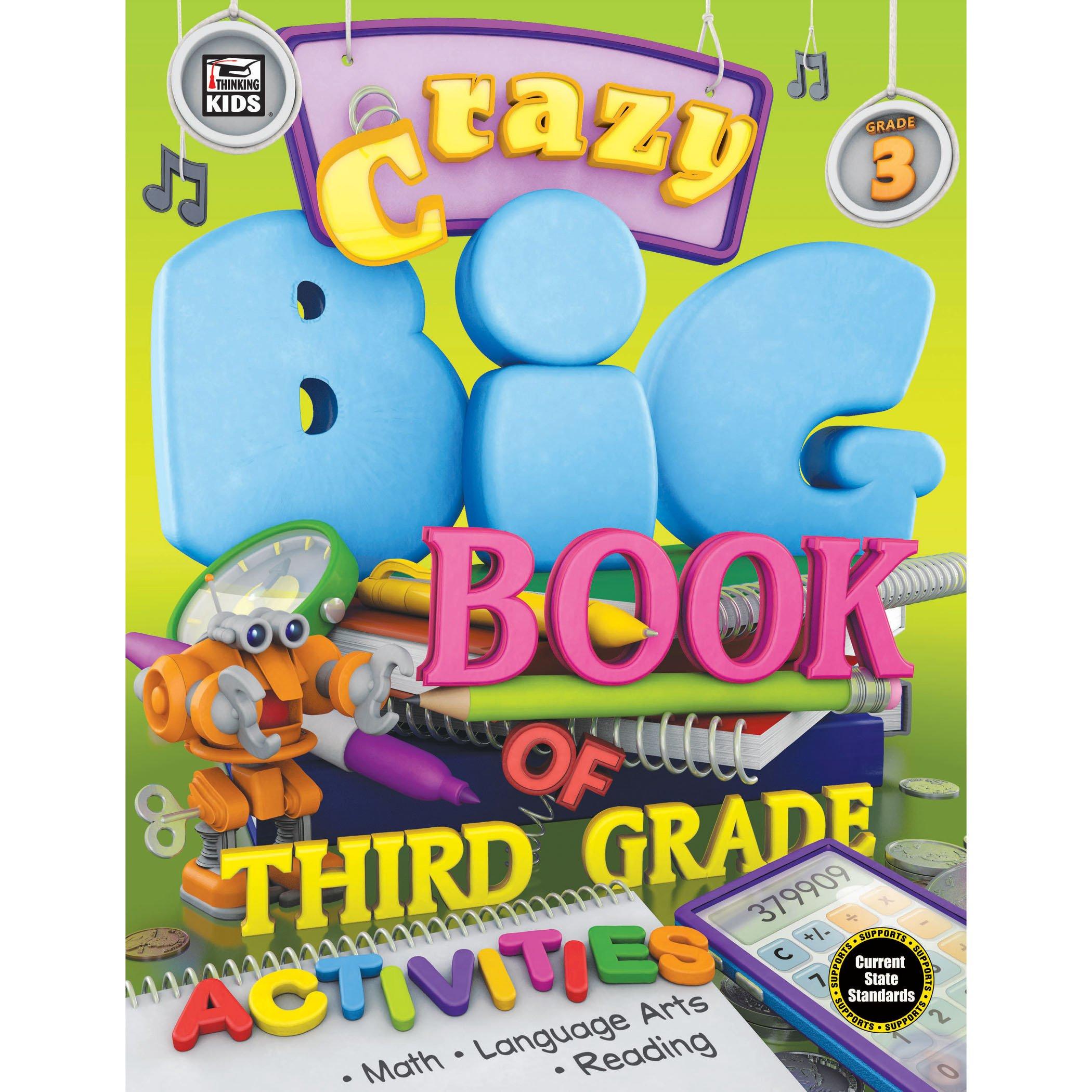 Crazy Big Book of Third Grade Activities pdf