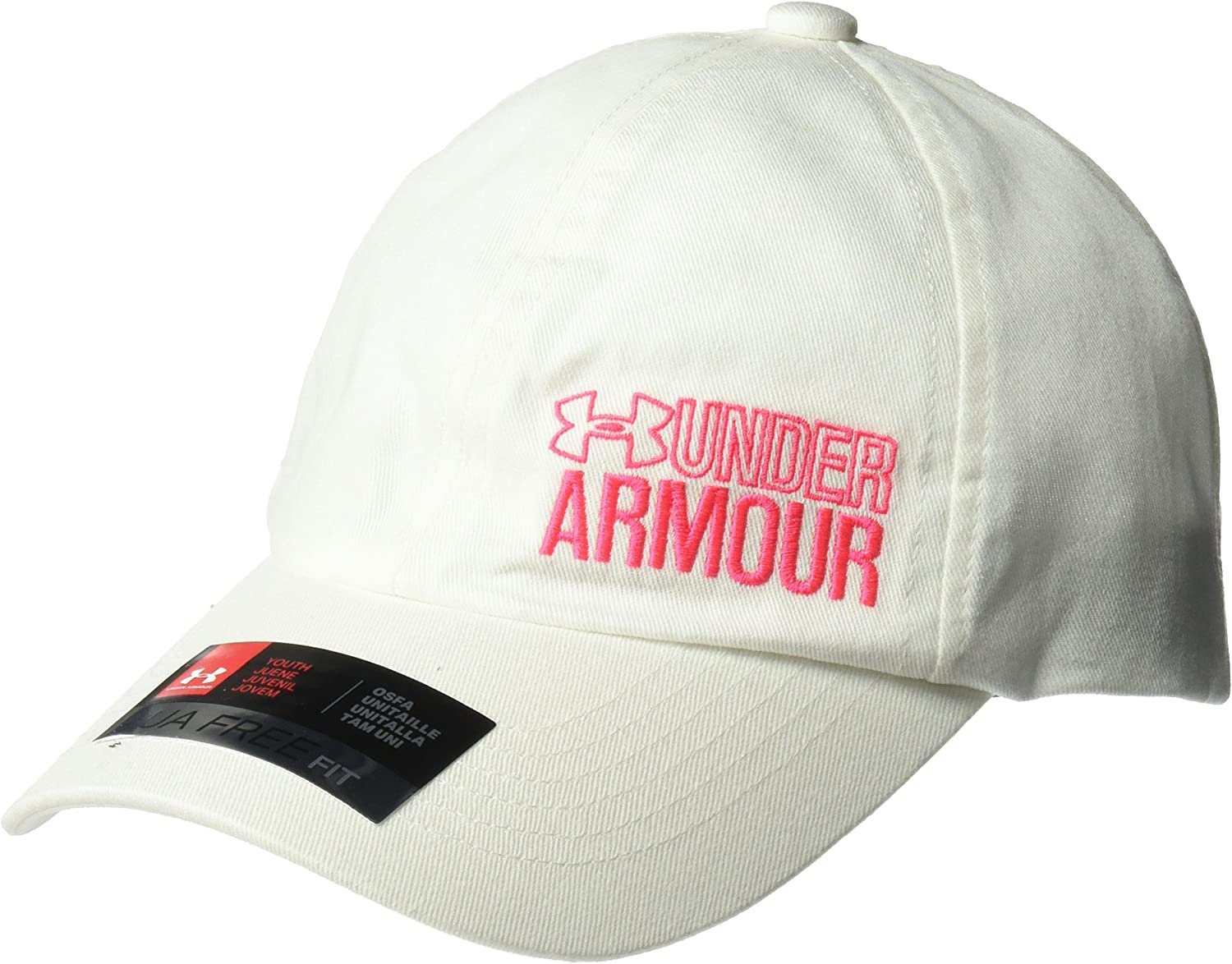 Under Armour Girls Girlong Sleeve Graphic Armour Cap