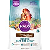 Halo Spot's Stew Holistic Dry Dog Food, Turkey, Duck, and Pheasant, 4 LB Bag of Small Breed Dog Food(Packaging May Vary)