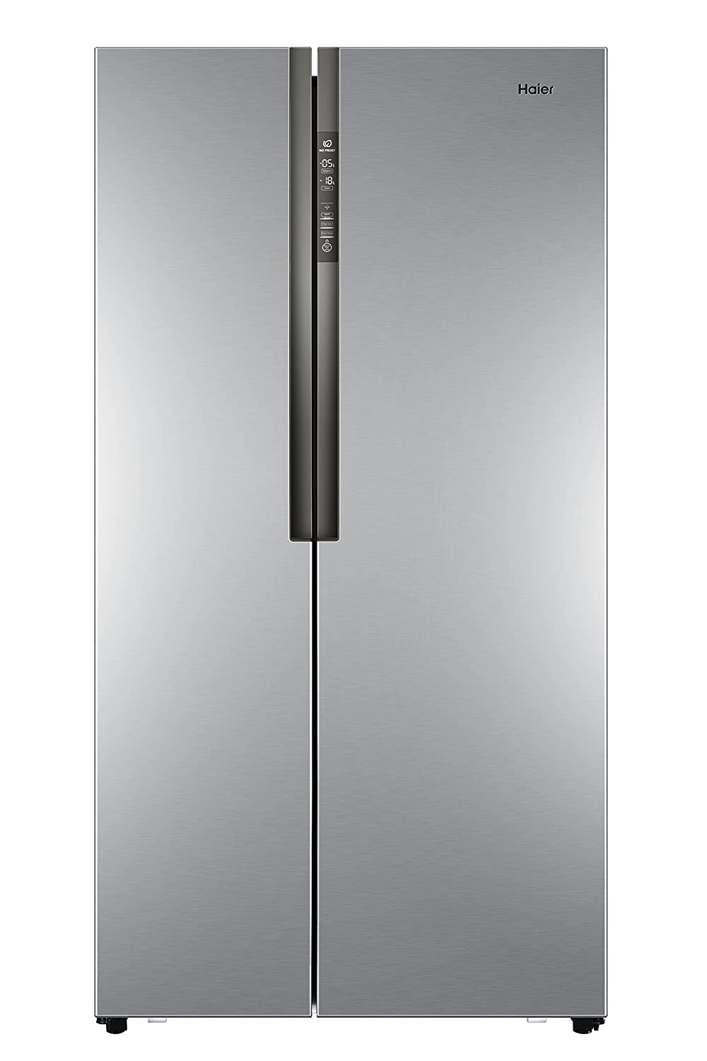 Haier HRF-521DS6 Independiente 518L A+ Plata nevera puerta lado a lado - Frigorífico side-by-side (Independiente, Plata, Puerta americana, LED, Tocar, ...