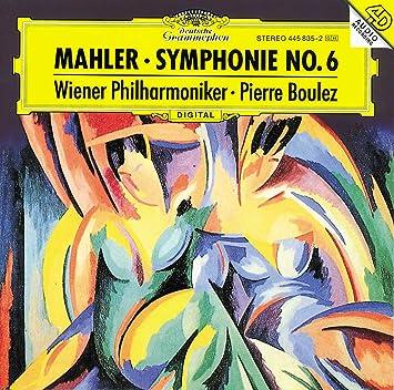 Risultati immagini per mahler boulez symphony 6 cd