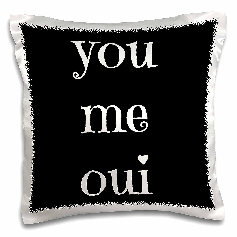 Pillow Case 16x16 inch Pillow Case Joie de Vivre French Saying 3dRose Xander Inspirational Quotes