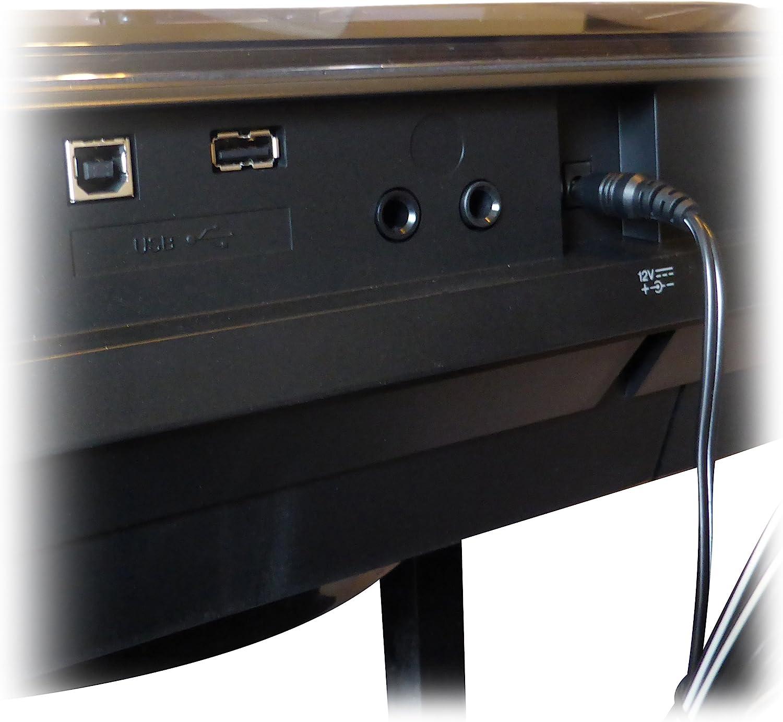 ABC Products - Cable adaptador de pared para Yamaha 12 V, 12 V, CC 12 V, PA-5D, PA-150, PA-150A, 5D, SEPA6, PA-6, PA-3C, EP-A3, KP-A3, PA-130/PA4, ...