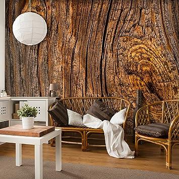 Decomonkey | Fototapete Holz 400x280 Cm XXL | Design Tapete | Fototapeten |  Tapeten | Wandtapete
