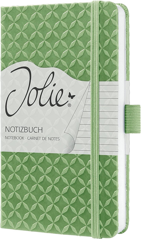 Libreta Jolie rayada con tapa dura color turquesa Sigel JN102 A6