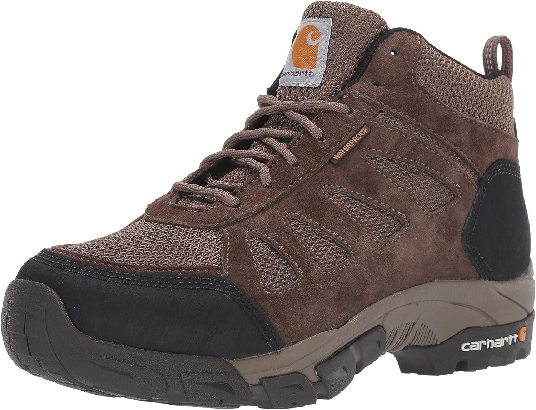 Carhartt Women's Lightweight Wtrprf Mid-Height Work Hiker Soft Toe Cwh4120 Industrial Boot
