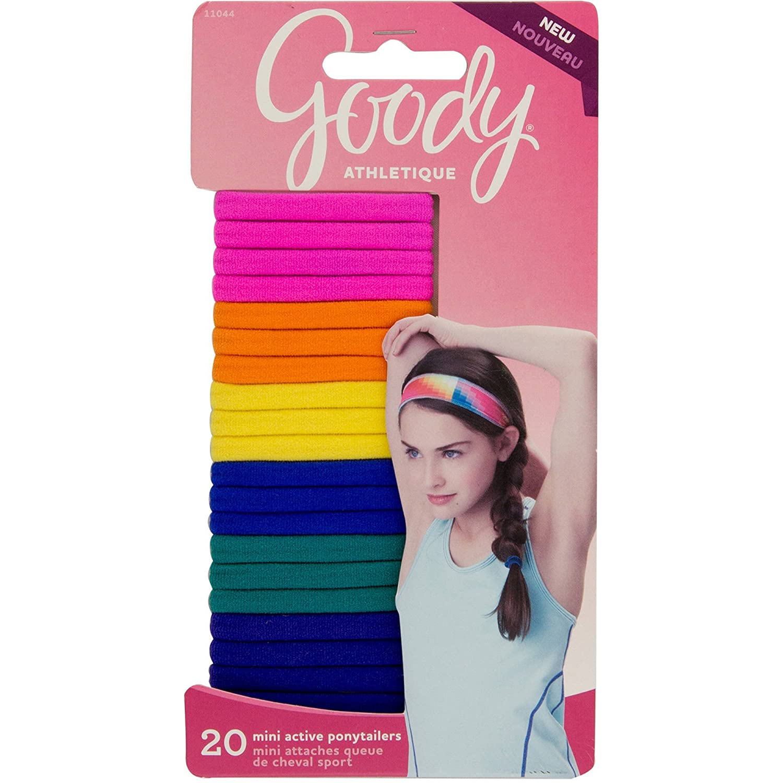 Buy Goody Girls Athletique Sweat Stretch Hair Elastics 7c3d6d7b2c0