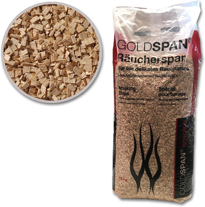 30 kg GOLDSPAN Smoke R/äuchersp/äne R/äuchern Buche Smoking R/äuchermehl R/äucherholz