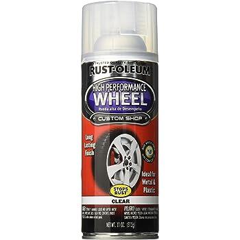 Rust Oleum  Automotive  Ounce High Performance Wheel Spray Paint