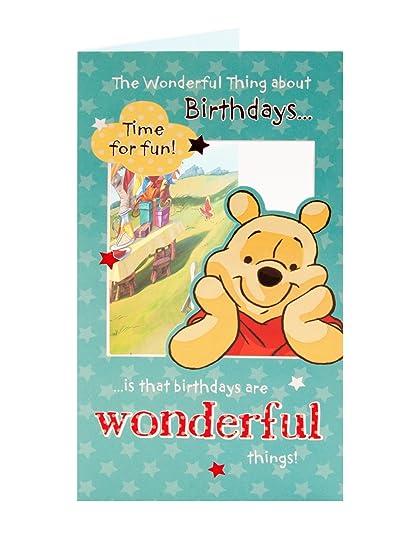 winnie the pooh lo maravilloso de cumpleaños que es Tarjeta ...