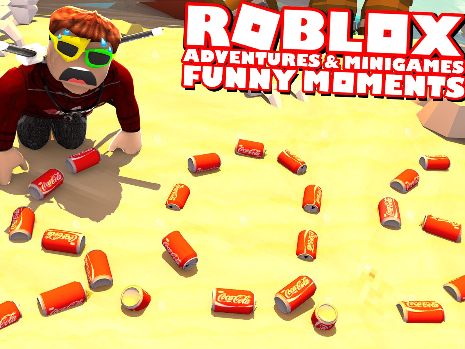 Roblox Minigames Tutorial Watch Clip Roblox Adventures Minigames Funny Moments Prime Video