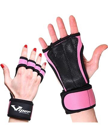 ViperSportsWear Gants Crossfit Manique de Musculation - Protège de Poignets d1e0473190f