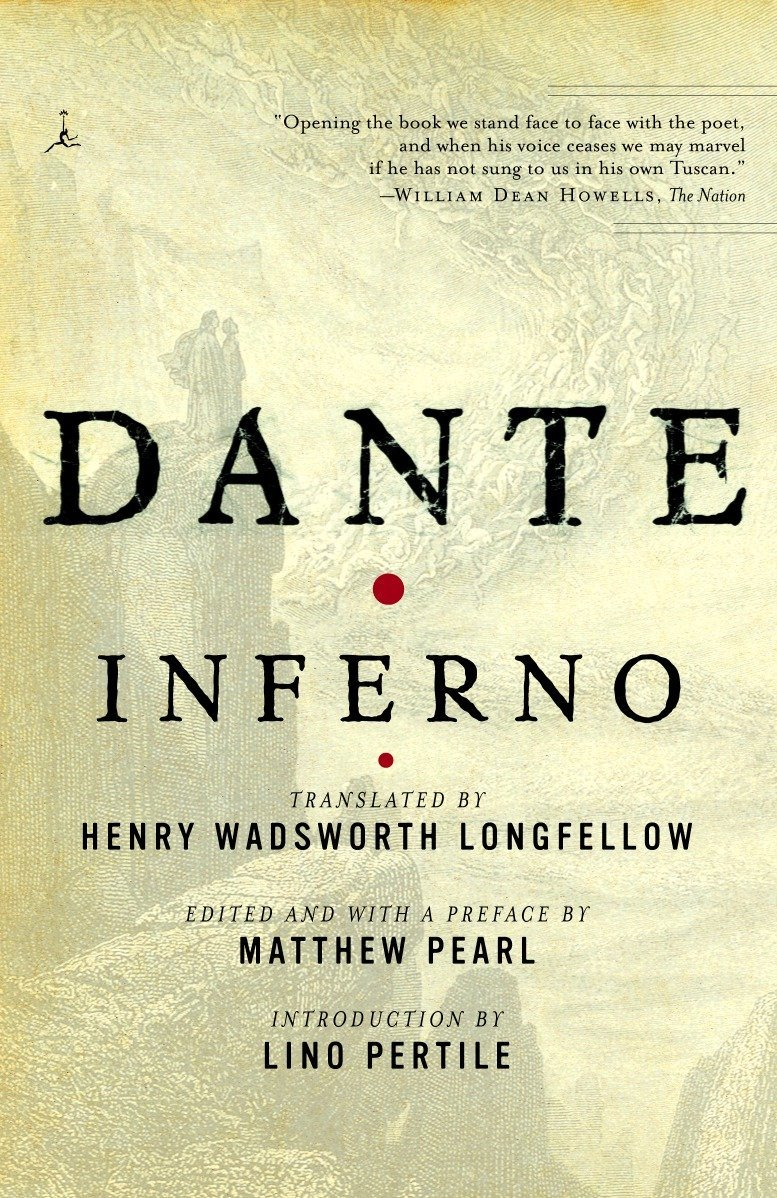 dantes inferno poem text