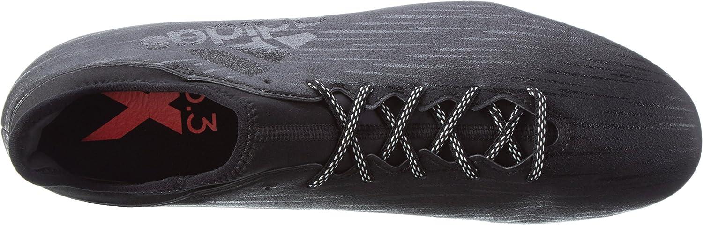 Adidas Men's X 16.3 FG Football Boots Black Core Black Core Black Dark Grey