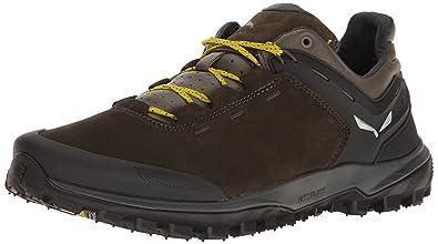 Men's Wander Hiker Leather Hiking Shoe  Hiking Trekking Scrambles  Full Grain Leather Lining Michelin Sole Durable Nubuck Leather Upper