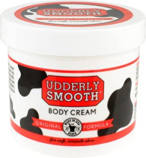 product image for Udderly Smooth Body Cream, Original Formula, 12 Oz Jar, Lightly Scented
