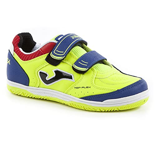 a8fbd385732 Zapatilla de fútbol sala Joma jr Top Flex Solar yellow  Amazon.es ...