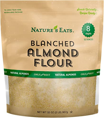 Nature's Eats: Blanched Almond Flour