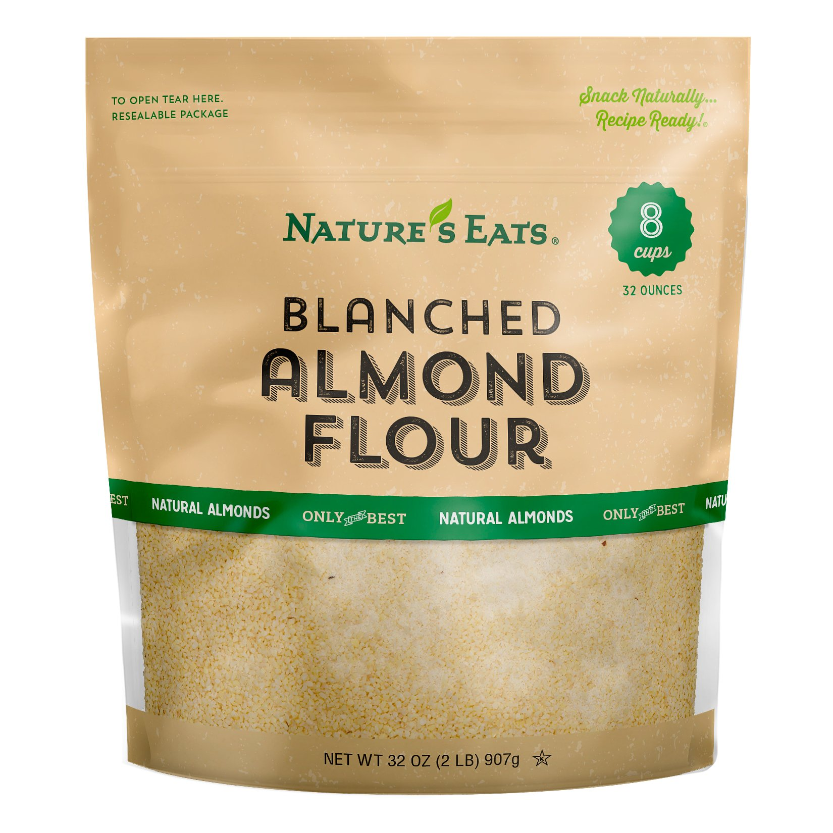 Nature's Eats Blanched Almond Flour, 32 Ounce by Nature's Eats