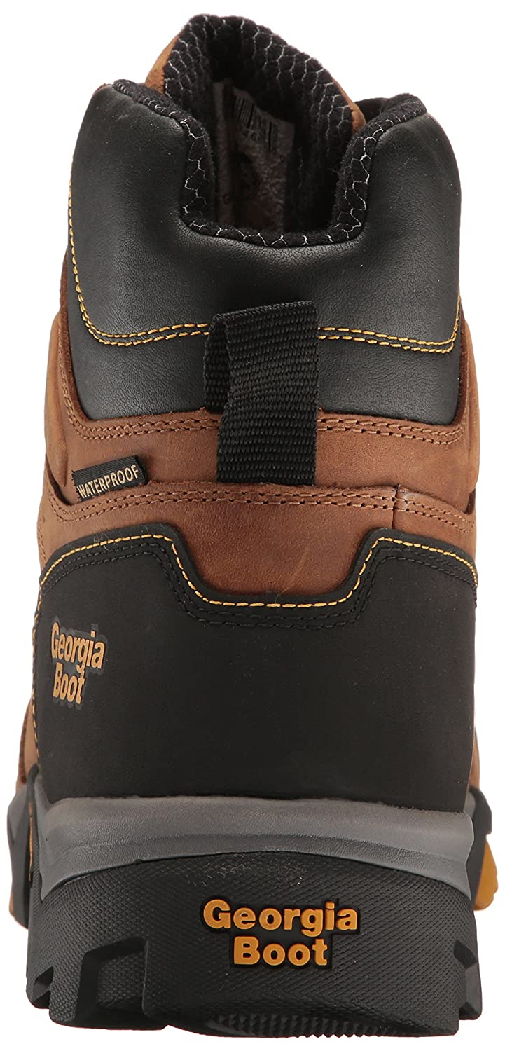 Georgia GB00129 Mid Calf Boot B01HIRMSDY 9 M US|Trail Crazy Horse